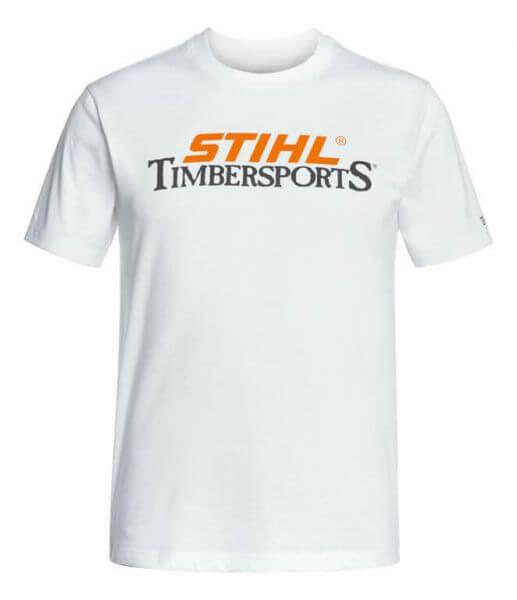 T-Shirt STIHL Timbersports, Weiß