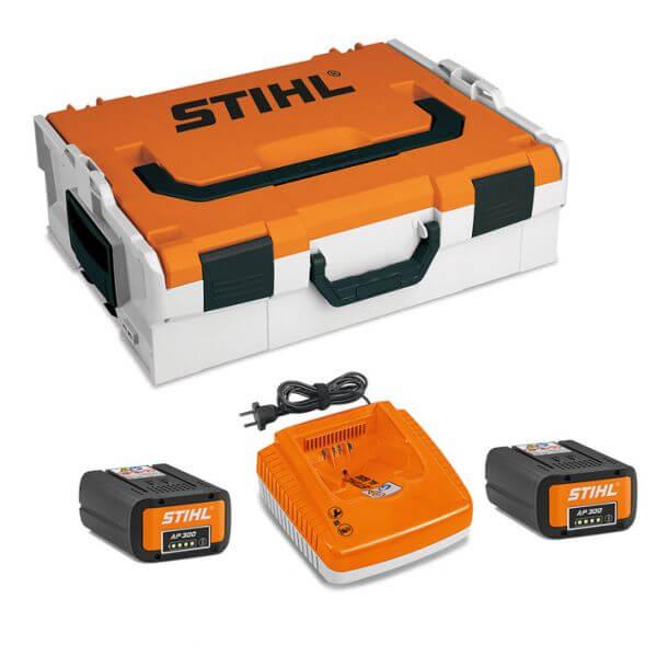 Akku STIHL Power Box mit 2x AP 300 und AL 500